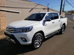 Toyota Hilux SRX 2018 Branca Automatica 4x4 Diesel