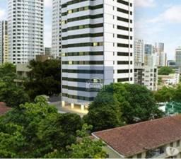 Apartamento com 1 dormitório para alugar, 35 m² por R$ 1.700/mês - Tamarineira - Recife/PE