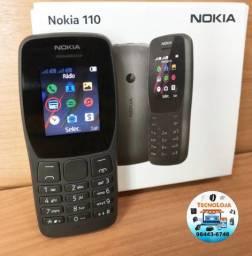 Celular Nokia Dois Chips Rádio Leitor Mp3 Lanterna E Câmera