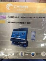 Título do anúncio: DVD automotivo retrátil