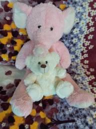 Urso elefante rosa