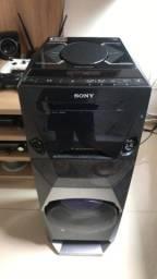 Caixa De Som Sony Mhc V3 - Semi-Nova Excelente Estado