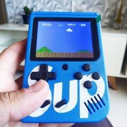 Mini Game Sup 400 em 1 Portátil Jogos Clássicos Cabo P2 Av Mega