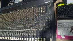 Mesa de som Mackie 24 canais, som profissional