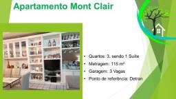 apartamento condomínio mont clair - R$ 450 mil