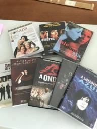 Título do anúncio: DVD (oito) filmes e shows