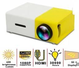 Título do anúncio: Mini projetor. Cinema portátil!