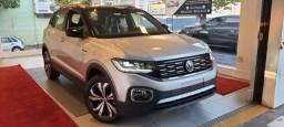 Título do anúncio: Volkswagen T-Cross 1.4 250 TSI TOTAL FLEX HIGHLINE AUTOMÁTICO