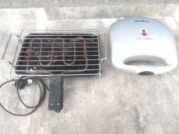 Grill e churrasqueira eletrica