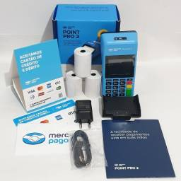 Título do anúncio: Maquina de Cartão Point Pro 2 Mercado Pago Centro Curitiba Loja Oficial