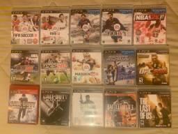 Título do anúncio: Jogos de PS3 semi-usados