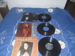 vendo 03 discos da Maria Bethânia R$75,00 usado