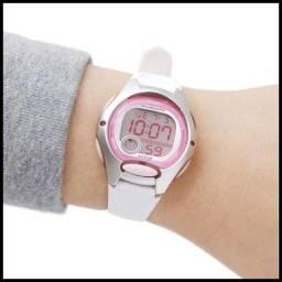 Título do anúncio: Relógio Casio 100% Novo e Original lw200 Prova dágua Luz LED