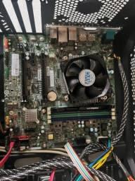Título do anúncio: kit placa mãe lenovo, processador intel 6600k 4gb ram