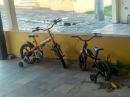Vendo duas bicicletas aro 12 e 16