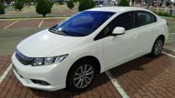 14/14. Único Dono. Civic LXS Automático. Muito Novo (S/ Nada p/ Fazer). Troco/Financio
