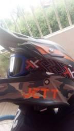 Capacete Off Road Motocross Capacete Jett Cross