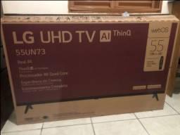 """Título do anúncio: TV LG 55"""" Nova com nf e garantia."""