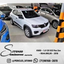 KWID - 1.0 12V Sce Flex Zen - R$44.990,00 - 2018