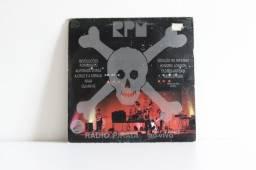 Disco de vinil RPM Rádio Pirata Ao vivo