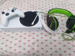 Título do anúncio: Xbox Series S com 10 dias de uso e tenhos as notinhas