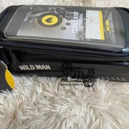 Título do anúncio: Bolsa tipo bag para bicicleta com case para celular - a prova d?água e touchscreen