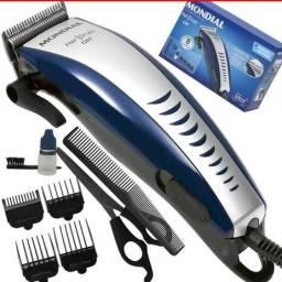 Maquinas de cortar cabelo CR 7 Modial originais novas com1 ano de garantia