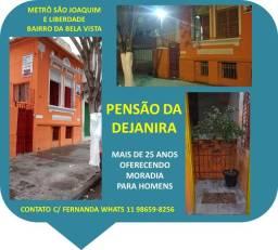 Título do anúncio: Quarto Individual p/ Homens Metrô São Joaquim Liberdade Bela Vista Vergueiro