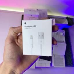 Carregador Cabo IPhone Lightning Para USB (1 metro) 100% ORIGINAL