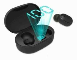 Fone Ouvido Digital True Esporte Bluetooth 5.0 E6s Tws: Fone