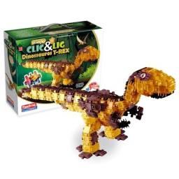 Dinossauro de Montar Clic e Lig
