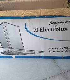 Coifa / hood Electrolux nova na caixa. Linda, testada, com laudo oficial e nunca usada.