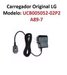 Título do anúncio: Carregador Aparelho LG Original Modelo Ucb005052-02p2 A89-7 Bivolt 5,0V Impecável!