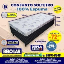 Cama Solteiro De Espuma, Compre no zap *