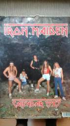 Calendário Iron Maiden 1987