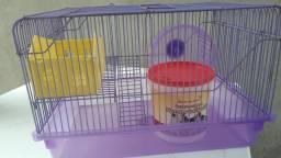 Gaiola para hamster + acessórios