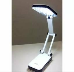 Luminária de mesa abajur portátil 24 LEDs;) entrega grátis