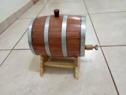 Barril de cachaça de 3 e 5 litros