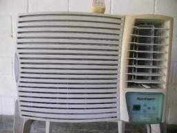 Ar condicionado springer admiral,7500 btus,controle remoto,220 volts,220 volts