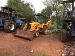 Retro escavadeira case 580 h