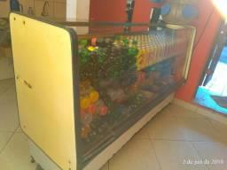 Freezer Expositor e Estufa .