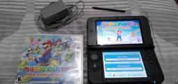 3Ds XL com jogo original Mário