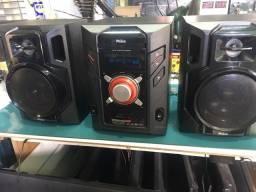 Mini System PH650 philco com usb e cartão