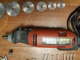 Micro Retifica RTX Black & Decker ( tipo Dremel ) - seminovo
