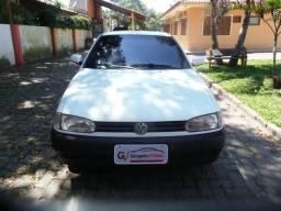 VW Gol 1.0 8v Mi 4 Portas Rodas e Pneus Novos Aceito Negociação e Financio - 1999