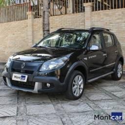 RENAULT SANDERO 2011/2012 1.6 STEPWAY 16V FLEX 4P AUTOMÁTICO - 2012