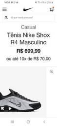 Nike r4 tipo zero uzado duas vezes