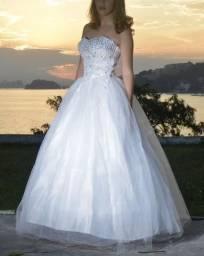 Vestido debutante/noiva branco com preço baixo e MENOR NO DINHEIRO