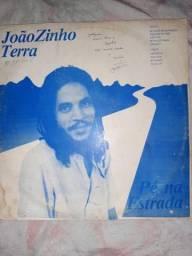 Vinil LP joaozinho terra autografado
