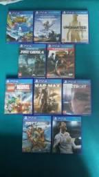 Jogos de PS4 - Lacrados e Semi novos (Leia toda a descrição do anúncio!)